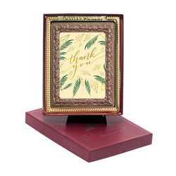 Green Thank You Chocolate Portrait