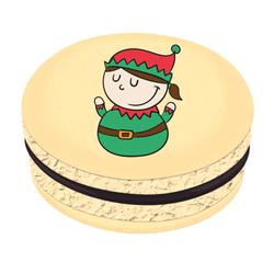 Copy of Reindeer Christmas Printed Macarons