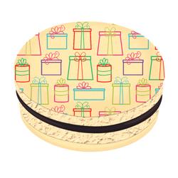 Colorful Gifts Christmas Printed Macarons