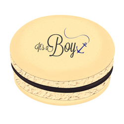 It's a Boy Printed Macarons