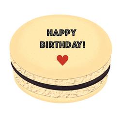 Happy Birthday! ❤ Printed Macarons