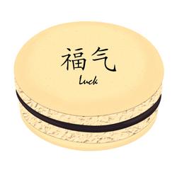 Luck Printed Macarons
