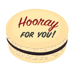 Hooray For You! Printed Macarons