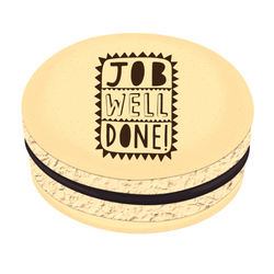 Job Well Done! Printed Macarons