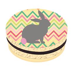 Easter Bunny Printed Macarons