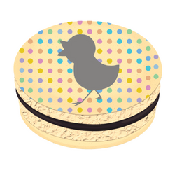 Duck Printed Macarons