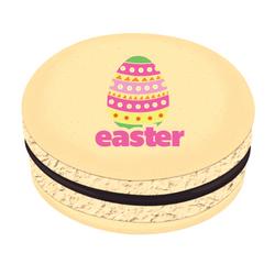 Colorful Easter Egg Printed Macarons