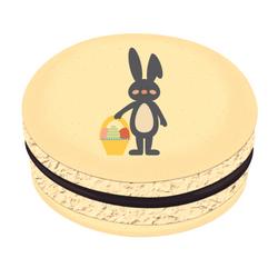Bunny Basket Printed Macarons