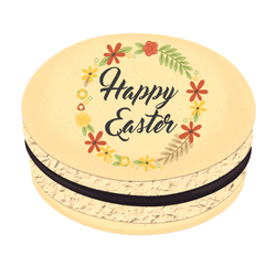 Happy Easter Printed Macarons