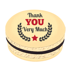 Thank You Very Much Printed Macarons