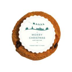 Merry Christmas 4  Christmas Printed Cookies