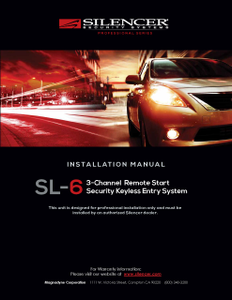 Silencer SL-6 | Installation Manual - Full Version