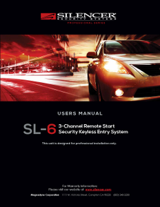 Silencer SL-6 | Users Manual - Full Version