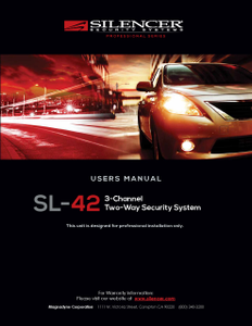Silencer SL-42 | Users Manual - Full Version