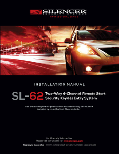 Silencer SL-62 | Installation Manual - Full Version