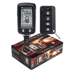 Silencer SL-52FM | 915 MHz FM 2-Way Remote Start Keyless Entry System - Packaging & Remotes