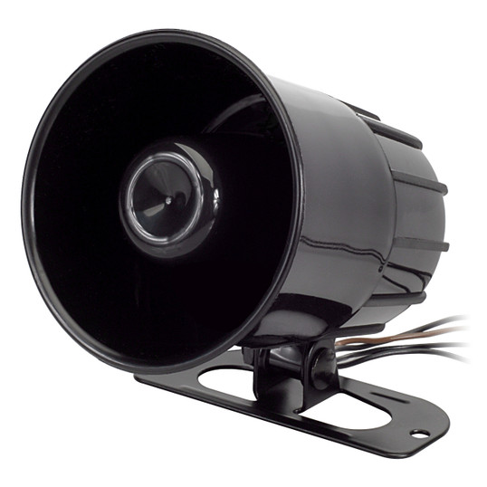 Magnadyne ALA125 | Compact Multi-Sound High Output 6-Tone Siren - 3/4 View