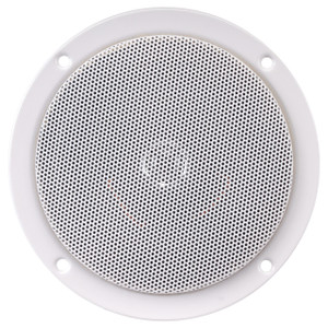 "Magnadyne AS505TXB-W | 5"" 2-Way Slimline Speaker - Front View"
