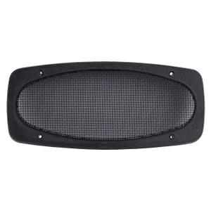 "Magnadyne G410TXB2 | 4"" x 10"" Universal Grill (Black) - Front View"