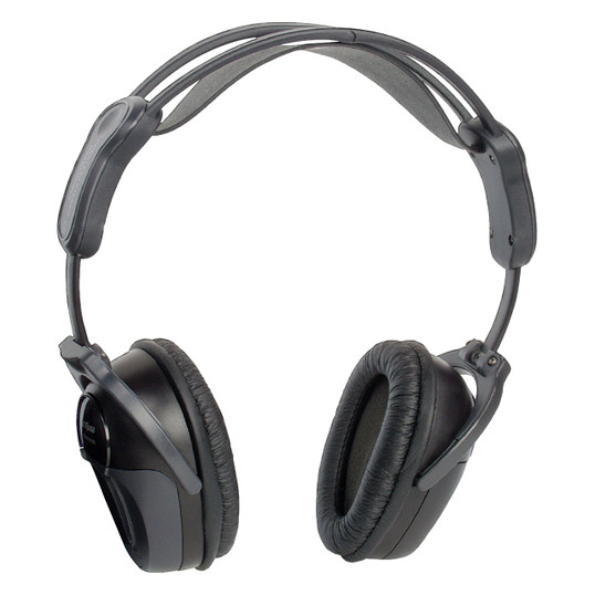 Movie Vision HP-400 | Single-Channel Foldable InfraRed (IR) Headphones - Full View