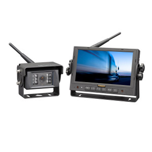 "MobileVision M150C-WL | 7"" Color LCD Monitor and Rear View Camera - Full View"
