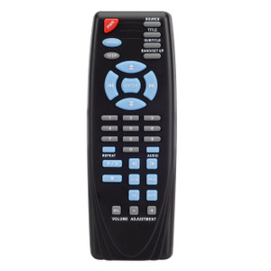 Magnadyne RC5000DVD | Replacement Remote Control for LS5000DVD - Front View