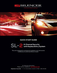 Silencer SL-2 | Quick Start Guide