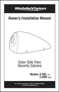 Magnadyne C-SDL | Owner's/Installation Manual