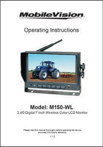 MobileVision M150-WL | Operating Instructions
