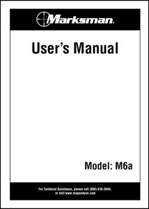 M6A | Owner's Manual