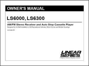 Linear Series LS6000/LS6300 | Owner's Manual
