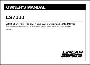 Linear Series LS7000 | Owner's Manual