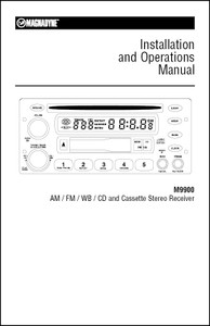 Magnadyne M9900 | Installation and Operation Manual