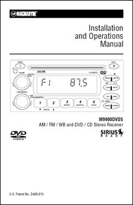 Magnadyne M9900DVDS | Installation and Operations Manual