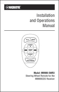 Magnadyne M9900-SWR3 | Installation and Operations Manual