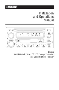 Magnadyne M9999 | Installation and Operations Manual