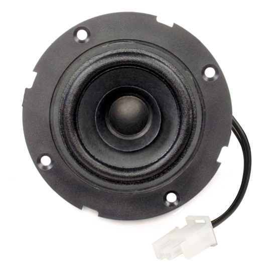 "Magnadyne LS1SMW-WN-B | 2 3/4"" Flush Mount Satellite Speaker without Grill - Front View"