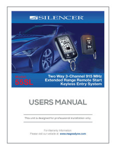 Silencer 55SL | User's Manual