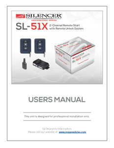 Silencer SL-51X | User's Manual