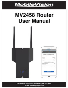 MobileVision MV100 | MV2458 User Manual