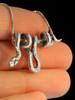 Vine Snake Pendant - Silver