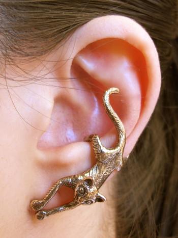 Cat Ear Cuff - Bronze