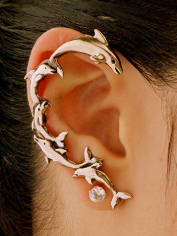 Dolphin Ear Wrap - Bronze