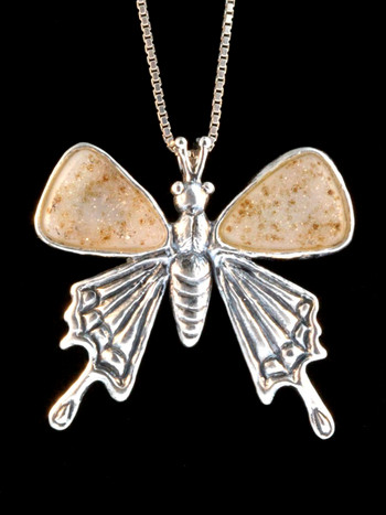 Large Jeweled Butterfly