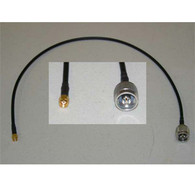 N-Male to SMA Male Jumper Cable 2 Feet