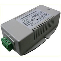 The TP-DCDC-2448GD-HP DC to DC converters offered by Tycon Power Systems are a low cost and high reliability solution for those requiring 35W 802.3af/at Power Over Ethernet voltage from a 18-36VDC battery system.  They have an integrated Gigabit Compatible 802.3af/at POE injector to apply the regulated 56VDC to the CAT5 Ethernet cable.  They accept data-in to a shielded RJ45 Jack and provide data-out and POE power on the shielded RJ45 output jack.  They work by supplying power on the unused Ethernet pins 4,5(V+) and 7,8(V-).  They have various protections for surge, short circuit and overload. The units have power output of 35W.  Features Input Voltage 18-36VDC or 24-72VDC POE Output voltage 56VDC High Power 30W Non-compliant POE Dual DC Inputs for connecting 2 power sources Integrated POE Inserter Low self consumption power Short Circuit, Over Current and Over Voltage Protection High Temperature Operation Applications 24V and 48V Battery Systems Wireless Access Points and Client Devices IP Phone and Security Camera Systems