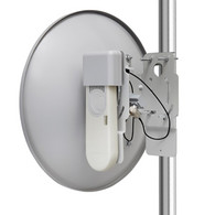 Features Cambium Networks' ePMP 1000 Connectorized High Gain Radio + 25 dBi antenna is designed to operate in high interference environments and provides superior throughput of more than 150 Mbps of real user data.  Long deployment range is enabled by the addition of a 25 dBi antenna with 30 dBm of transmit power.  Flexible Mode of operation ensures robust adaptivity to both symmetrical and asymmetrical traffic while providing high performance and exceptionally low 6 ms latency.  QoS management offers an outstanding quality for triple play services – VoIP, video and data and provides three levels of traffic priority.  This platform can be configured as a Subscriber Module acting as a standalone radio or a high gain Access Point radio in a PTP architecture.