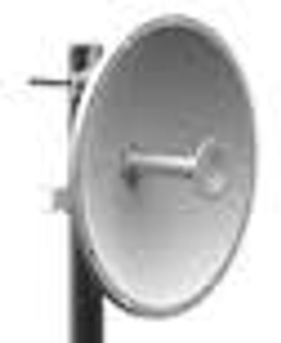 Parabolic Dual-Pol Dish Antenna 4.94-5.875GHz 30dBi  Features  Pole mount bracket included, with 30 deg mechanical downtilt Mounting features for ARC enclosures, Ubiquiti Rocket, ect. Wide band operation High Port to Port Isolation for Ideal MIMO Performance Dual Polarization (H & V); (can be adjusted for dual-slant 45 polarization) Manufactured under strict US quality control procedures Rugged design for outdoor use Optional radome available for improved environmental protection (P/N ARC-RD-2FTABS)