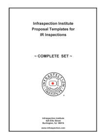 Complete Set of Proposal Templates for IR Inspections