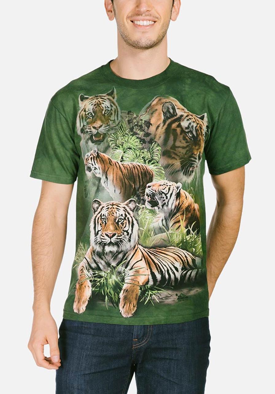 jungle tigers t shirt. Black Bedroom Furniture Sets. Home Design Ideas